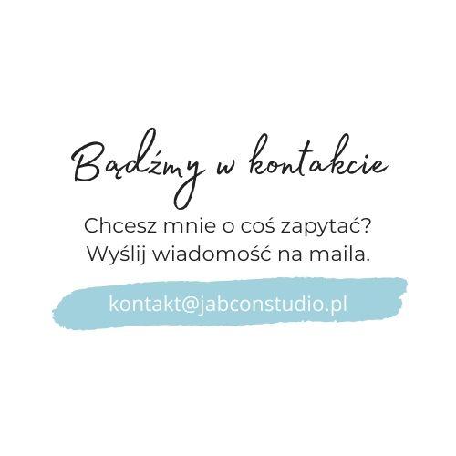 Bądźmy w kontakcie - Jabcoń Studio